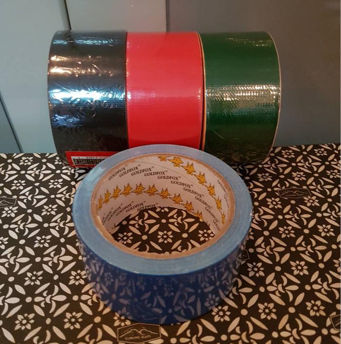 Foto Produk Lakban Kain Goldfox 2 inch dari SJ-Shop