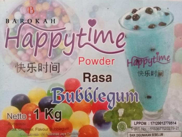 Bubuk Minuman Happy Time Bubble Gum / Bubble Drink Happy time