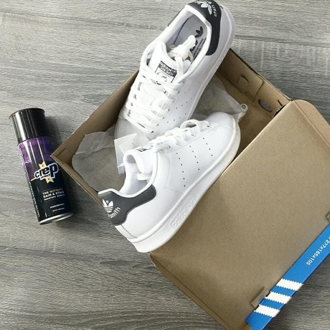 meilleure sélection 84a2d 8bf83 Jual Promo Paket Hemat Sepatu Adidas Stan Smith Hologram Full Putih White -  DKI Jakarta - Up_Trend   Tokopedia