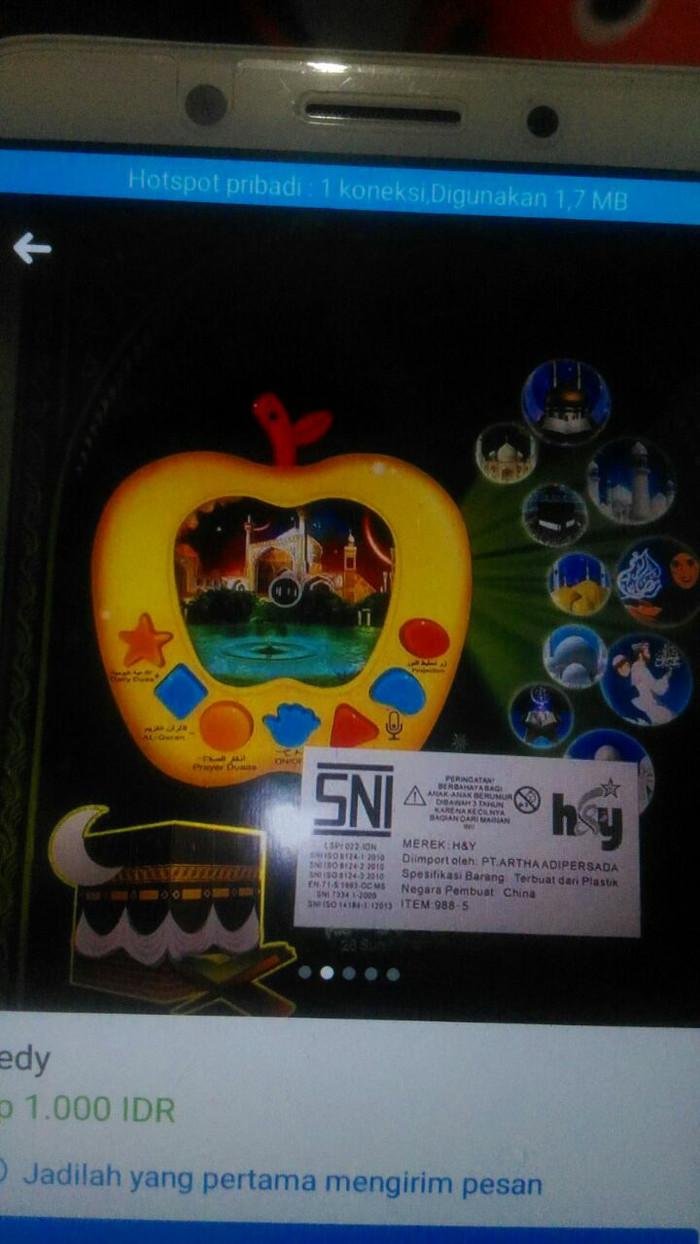 Jual Mainan Edukasi Musik Mengaji Anak Kab Gresik Hatidjah