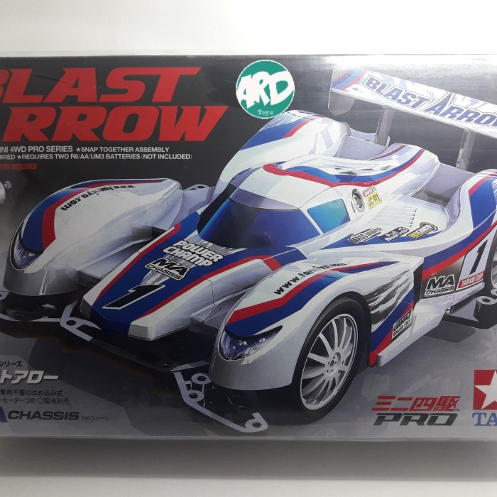 harga Mini 4wd - tamiya - blast arrow Tokopedia.com