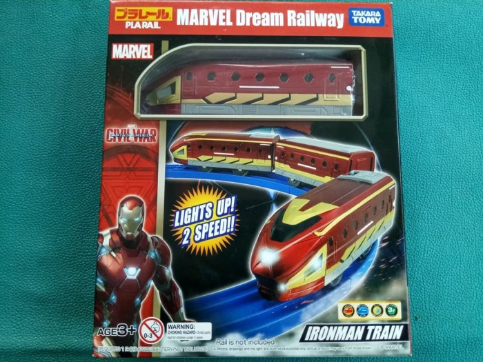 harga Takara tomy plarail marvel dream railway ironman train Tokopedia.com