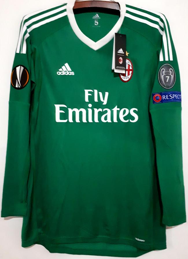 harga Jersey ac milan goalkeeper original adizero bnwt Tokopedia.com
