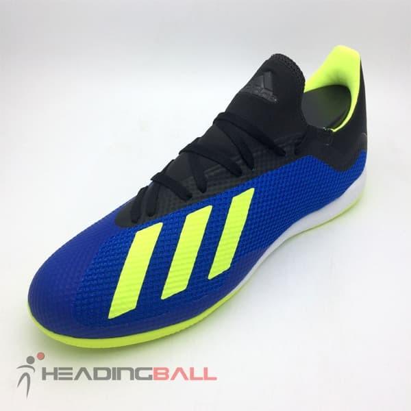 Jual Sepatu Futsal Adidas Original X Tango 18.3 IN Blue Solar Yellow ... af7dcd621c