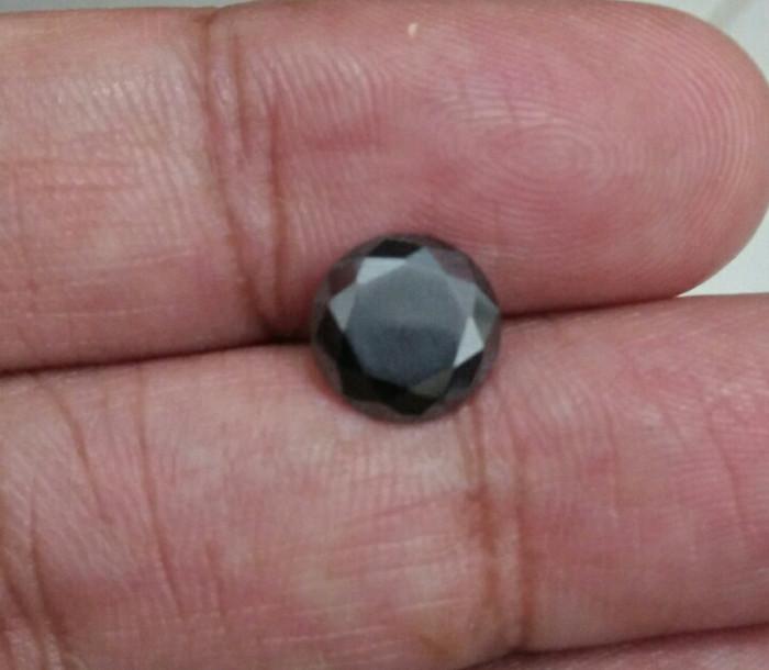 harga Black diamond moissanite 15ct 7mm vvs1 Tokopedia.com