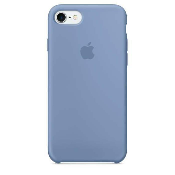 best loved 1c884 52cc0 Jual Original Apple Silicone case iPhone 7/8 - Azure - Jakarta Selatan -  Gadriz   Tokopedia