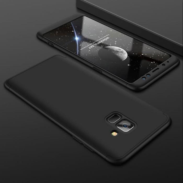 Ori GKK Samsung Galaxy A6 2018 Hard Case Cover Full 360 Protection