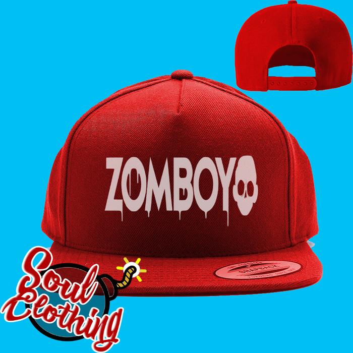 Jual Topi snapback zomboy - SOUL CLOTHING  f367bdad690