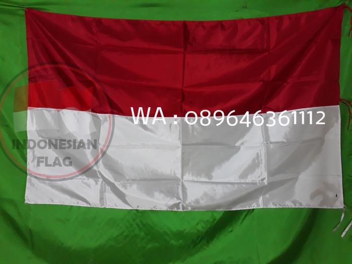 Foto Produk bendera merah putih | 90x60cm | bahan fillament | termurah | kualitas dari indonesianflags