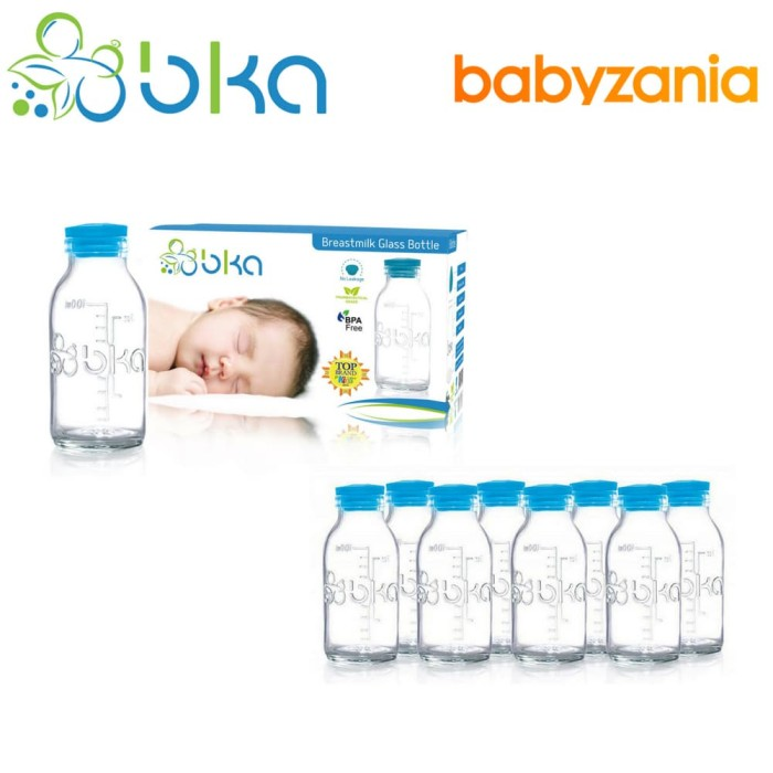 harga Bka botol kaca asi - 8 pcs Tokopedia.com