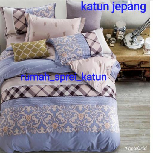 harga Sprei katun jepang batik etnik tinggi 40 Tokopedia.com