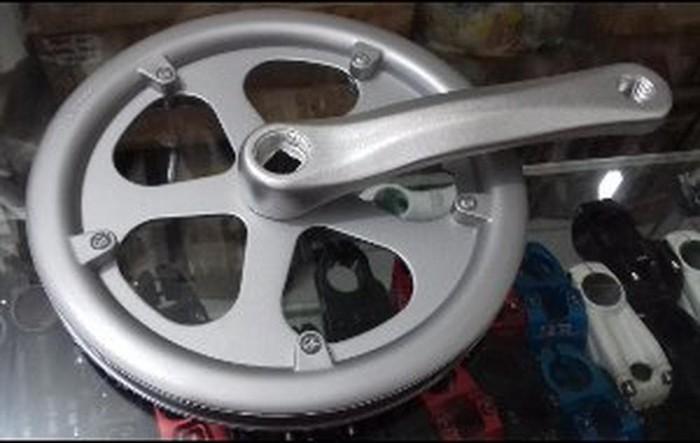 Jual Crank Sepeda Lipat Prowheel 48t ALLOY Berkualitas