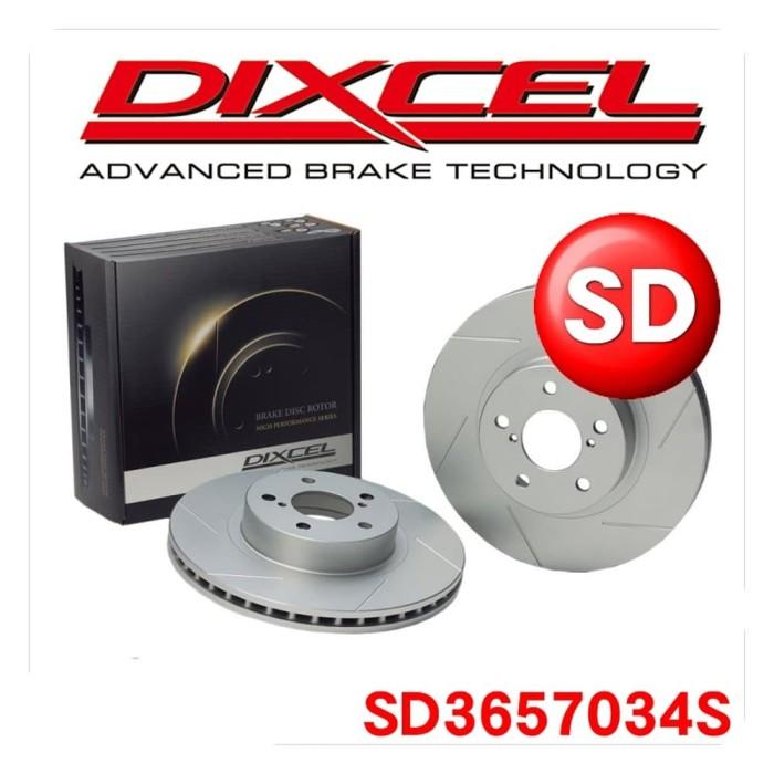 Disc Brake Rotor Dixcel Sd 3657034s - Subaru Forester Sjg Rear - Blanja.com