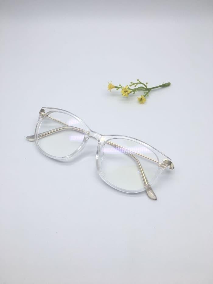 Jual Frame Kacamata Minus Korea 1089 Pria Wanita Hitam Doff - Gaya ... 948be06243