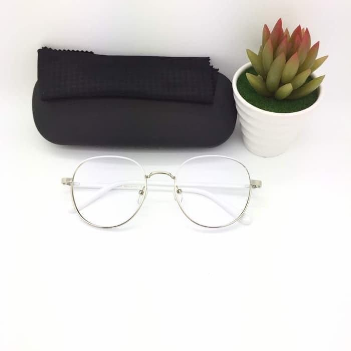 Jual Frame Kacamata Minus Fashion SR 8133 Pria Wanita Putih ... ccac08198b