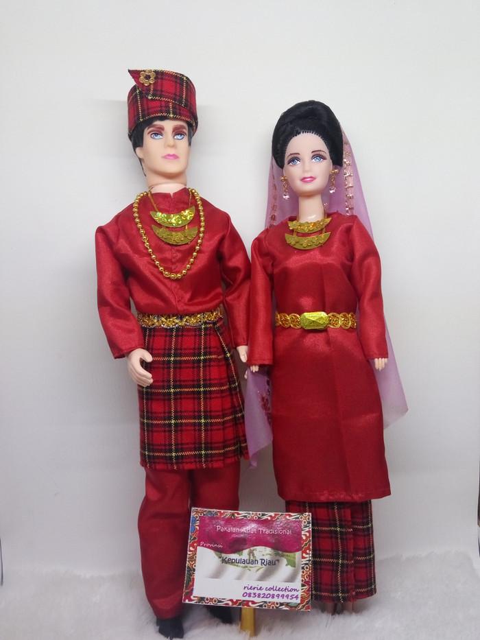Contoh Pakaian Adat Dari Riau - Baju Adat Tradisional