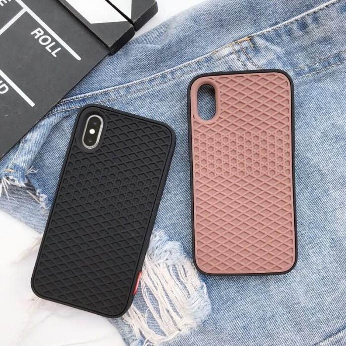 low priced aa4a4 3d0b9 Jual Vans waffle silicone soft case iphone 6 6s plus 7 7+ 8 8+ X karet -  Hitam - DKI Jakarta - destiny.case   Tokopedia