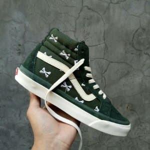 147062c3ac6 Jual Sepatu Vans OG SK8 HI LX Wtaps Bones Olive Green Whisp Paling ...