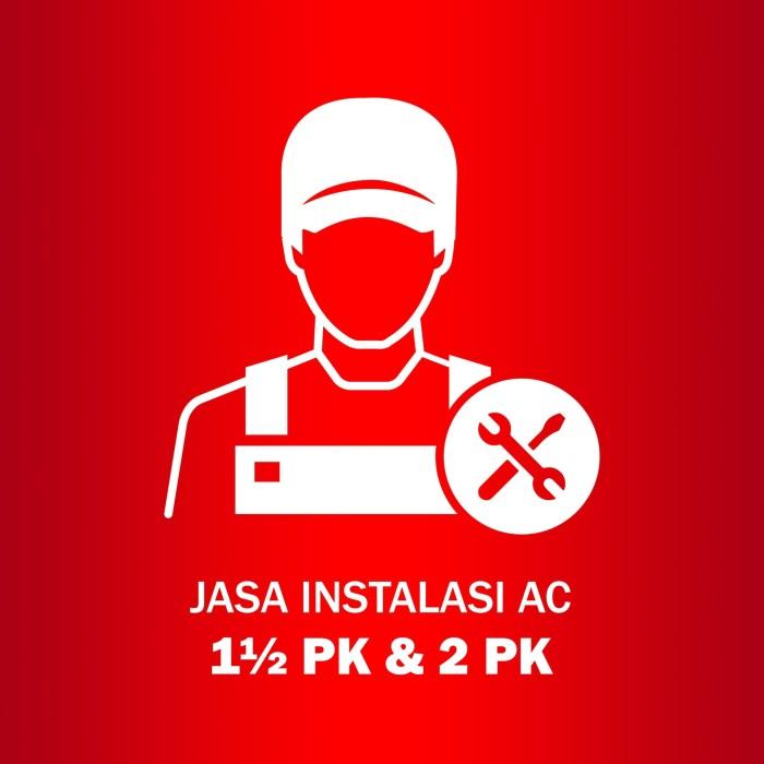 harga Jasa instalasi ac 1.5 pk & 2 pk Tokopedia.com