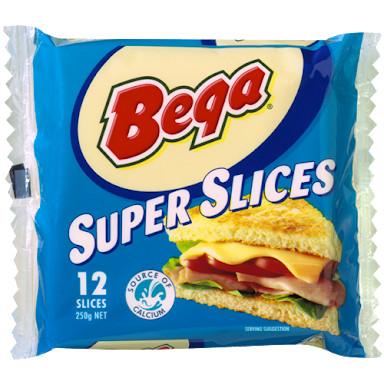 harga Keju bega super slice cheese (12slices/250gr) Tokopedia.com