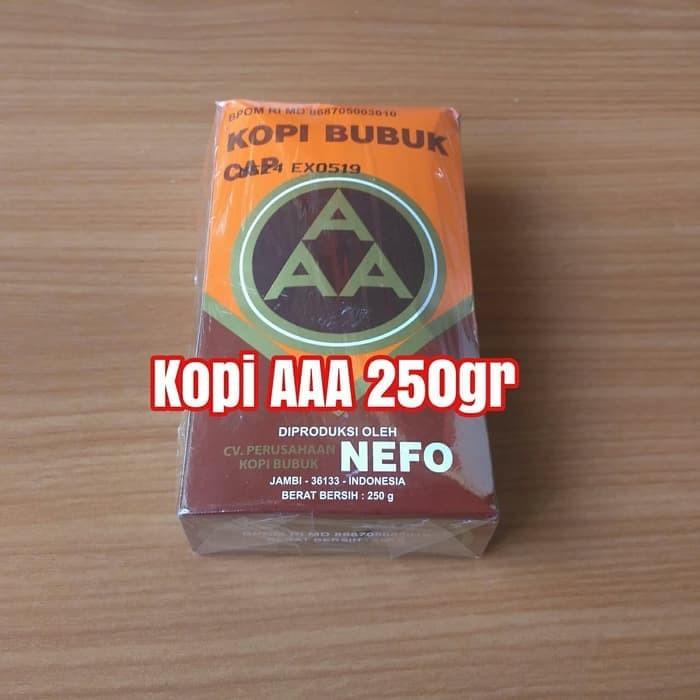 kopi aaa 250 gr Nefo asli khas Jambi 250gr