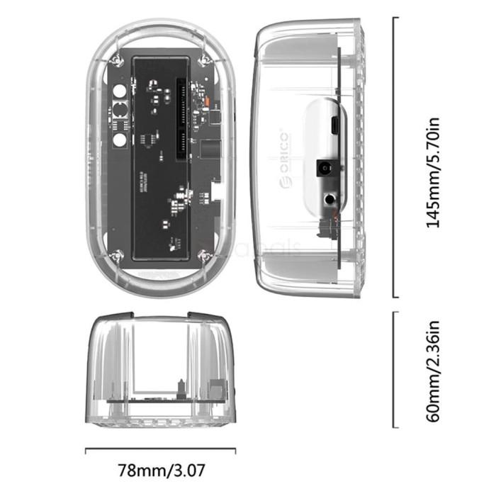 harga Orico 6139c3 ( type-c ) - hdd docking 2.5  & 3.5  hdd / ssd Tokopedia.com