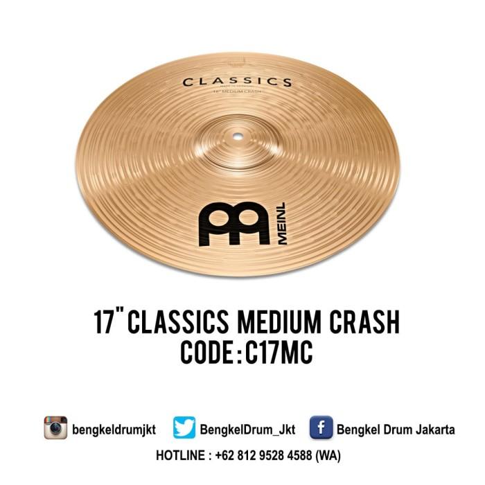 "Foto Produk Meinl Cymbal Classics Medium Crash 17"" dari Bengkel Drum Jakarta"