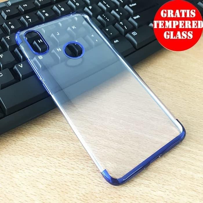 premium selection c325d 5d040 Jual Redmi Note 5/ Note 5 Pro Shiny Transparen Clear Ultra Thin Soft Case -  Black - Kota Administrasi Jakarta Timur - Blue Box Gadgets Store   ...