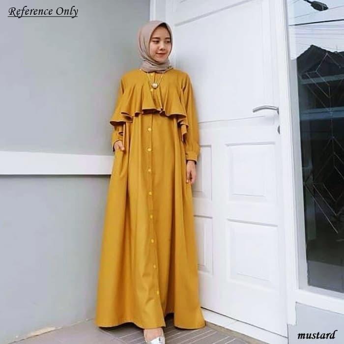 Jual Dres busana baju gamis syari Muslim Wanita Dewasa Terbaru HS001 ... 72f9529eff