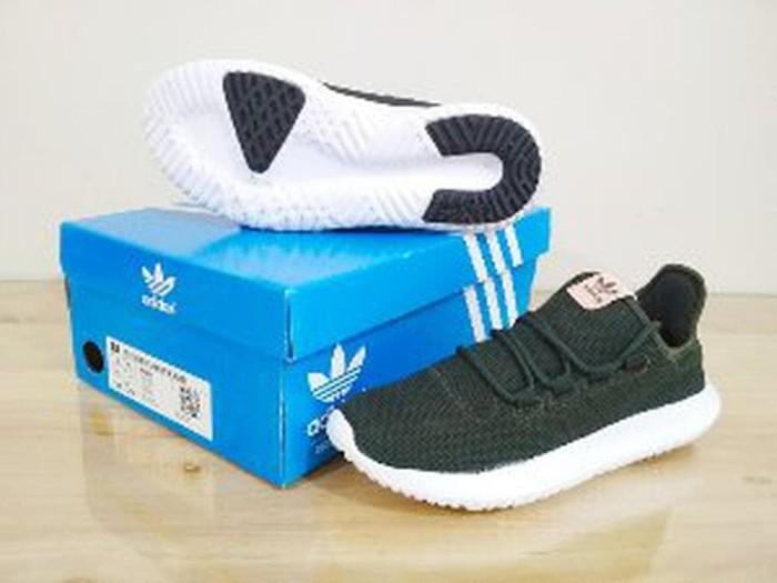 official photos 26229 8fd7a Jual Sneakers Sepatu ADIDAS Tubular Shadow Knit Green Olive Diskon - DKI  Jakarta - fressia shop | Tokopedia