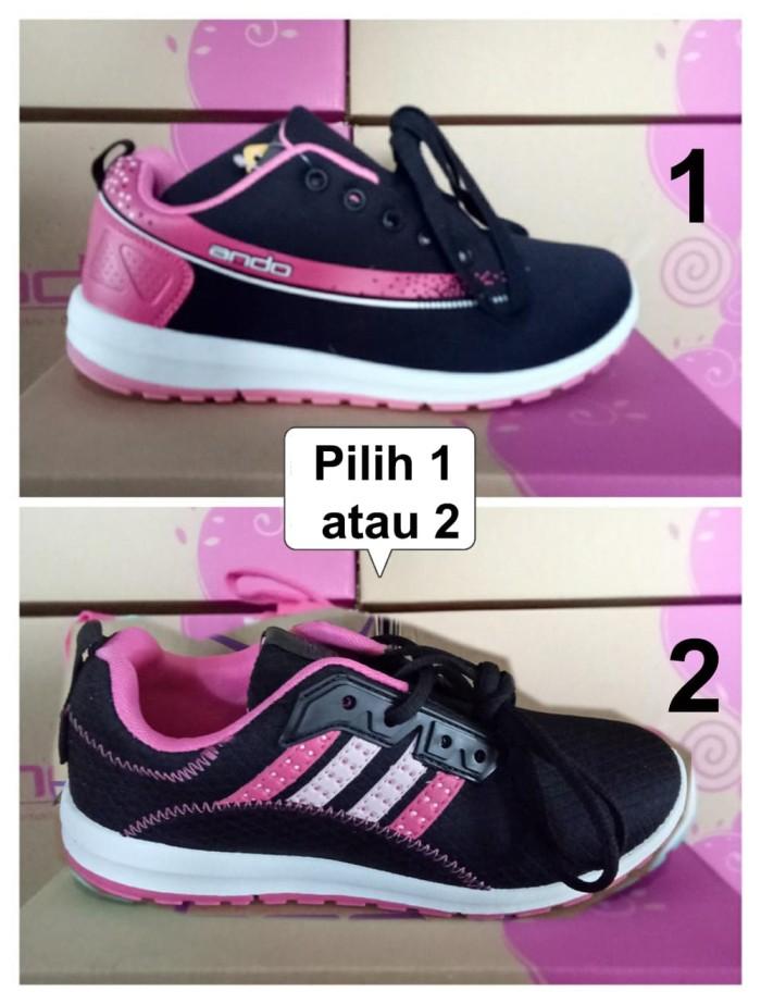 Sepatu Sport Merek Ando Original Anak wanita dan remaja Olah Raga - 32 836d54be54