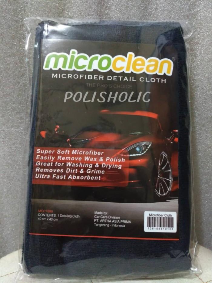 Microfiber Cloth Car Detailing 40x40cm MICROCLEAN