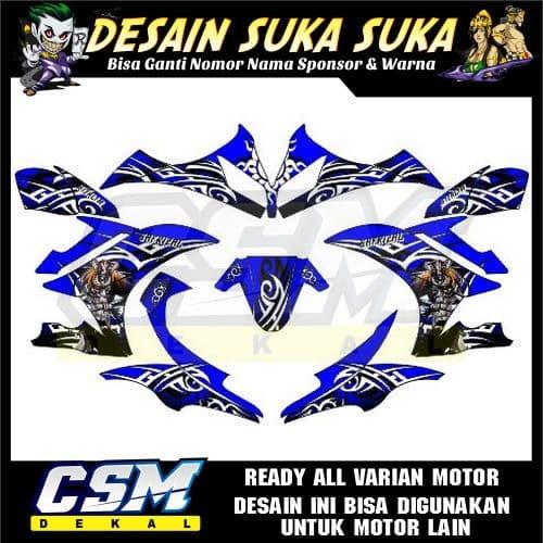 Jual 543 DEKAL DECAL MOTOR YAMAHA R15 V1 V2 V3 STIKER STICKER STRIPING BODY  - Kota Salatiga - csmdecal | Tokopedia