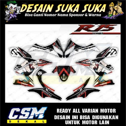 Jual 540 DEKAL DECAL MOTOR YAMAHA R15 V1 V2 V3 STIKER STICKER STRIPING BODY  - Kota Salatiga - csmdecal | Tokopedia