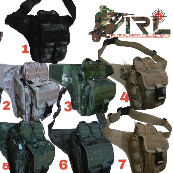 Jual Tas pinggang selendang loreng army tas waist bag outdoor ... 63b14fda99