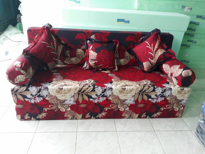 Jual Sofa Bed Inoac Ukuran 200 160 20 Fuchsia Kota Tangerang Azkiya Foam Tokopedia