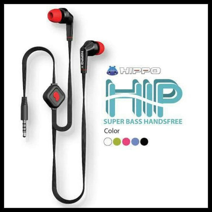 ... Jual Headset Hippo Hip Handsfree
