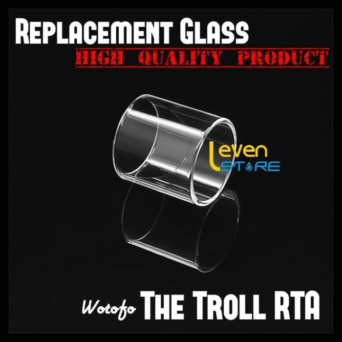 Jual Wotofo The Troll Rta Replacement Glass Tank Kaca Cadangan Jakarta Pusat Olla Herbal Id Tokopedia