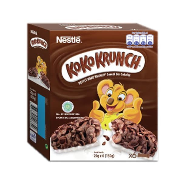 harga Nestlé koko krunch sereal bar cokelat[6 pcs] Tokopedia.com