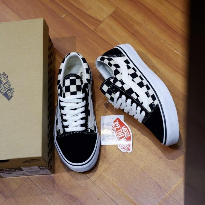 Jual Sepatu Vans Old Skool V36CL+ Checkerboard Japan Market Original ... 1d23d7258