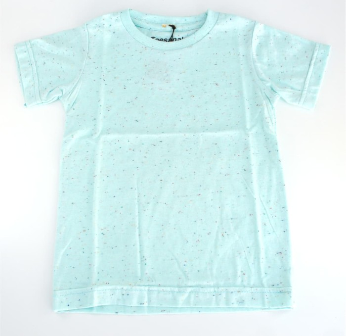 harga Kaos T - Shirt Anak Polos Biru Muda (mint) - 3 - 4 Tahun Blanja.com
