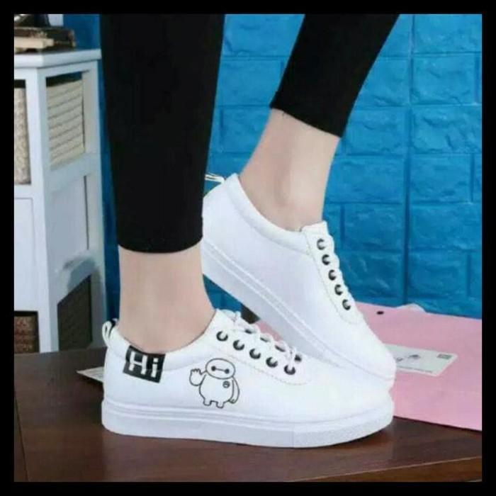 Foto Produk Sepatu Poxing (Bymax Putih) - Putih, 36 dari Elvand Store