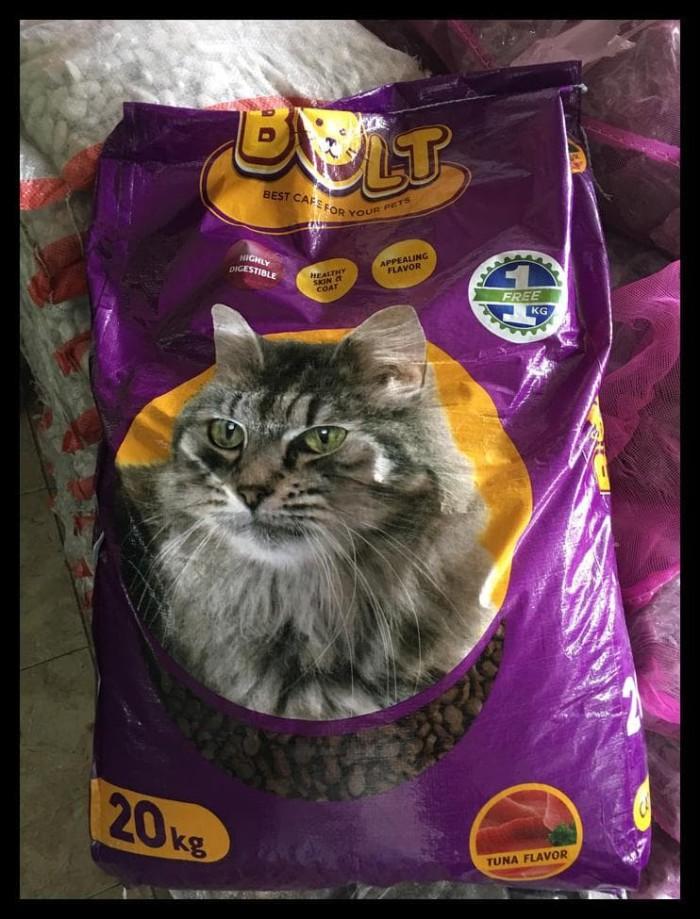 Makanan Kucing Bolt 20Kg Termurah