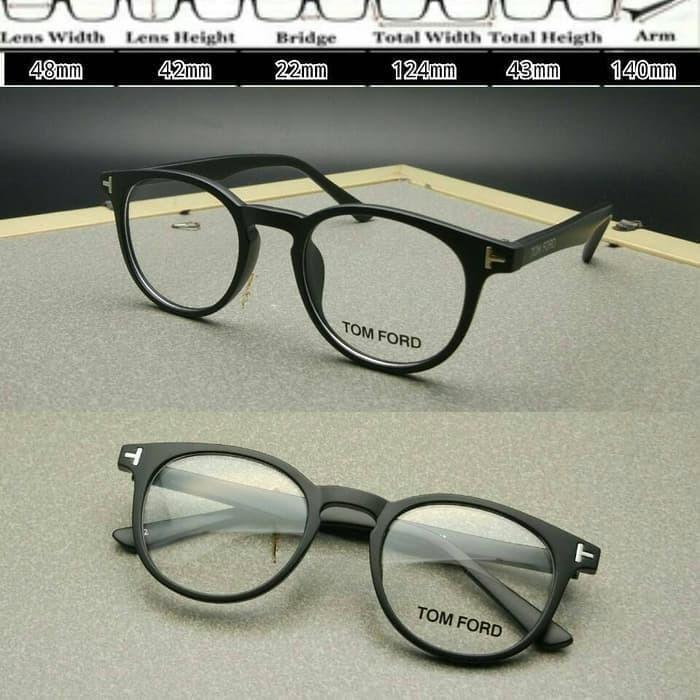 Jual Frame Kacamata Tomford 553 Hitam Doff Kacamata Baca Pria Wanita ... 041acb12b5