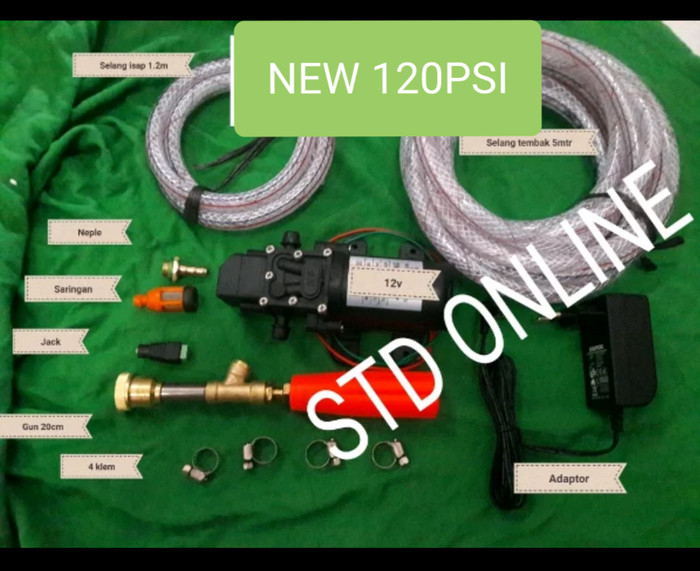 harga Steam cuci ac cuci motor komplite 100psi-120psi Tokopedia.com