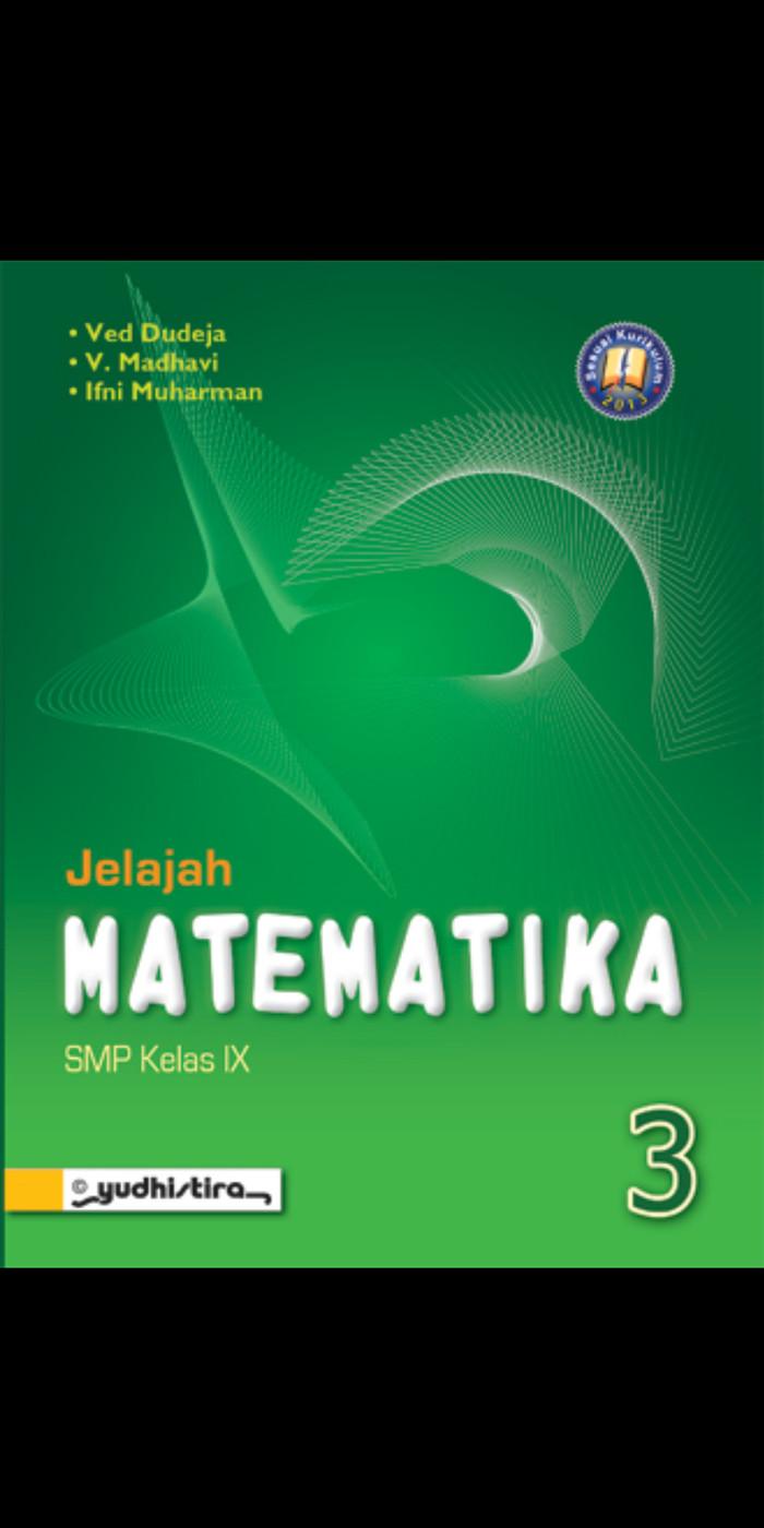 Foto Produk Jelajah matematika kelas 3 smp kur 2013 revisi dari Tokobuku Rostangg