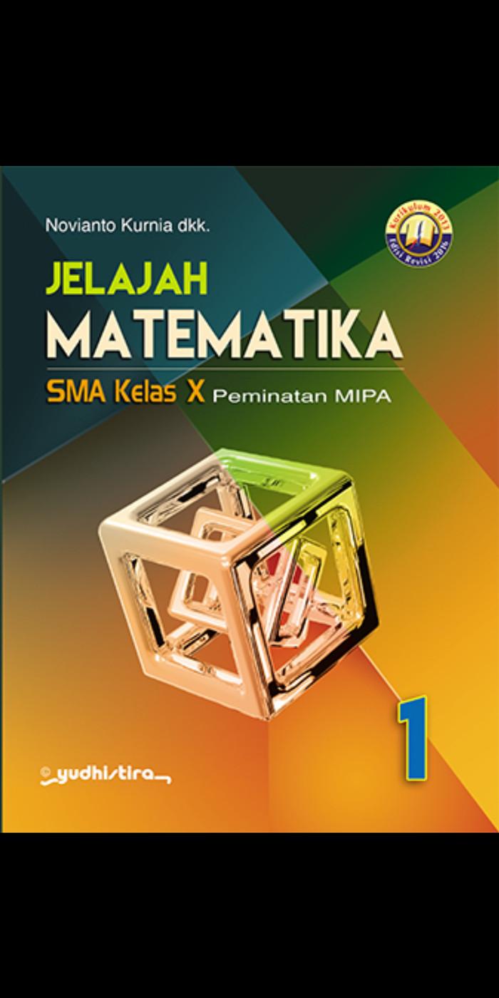 Foto Produk Jelajah matematika 1 kelas 10 sma peminatan kur 2013 revisi 2016 dari Tokobuku Rostangg