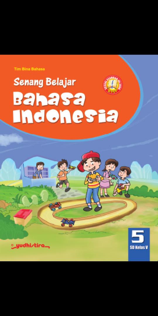 Foto Produk Senang Belajar Bahasa indonesia kelas 5 Sd Ktsp dari Tokobuku Rostangg
