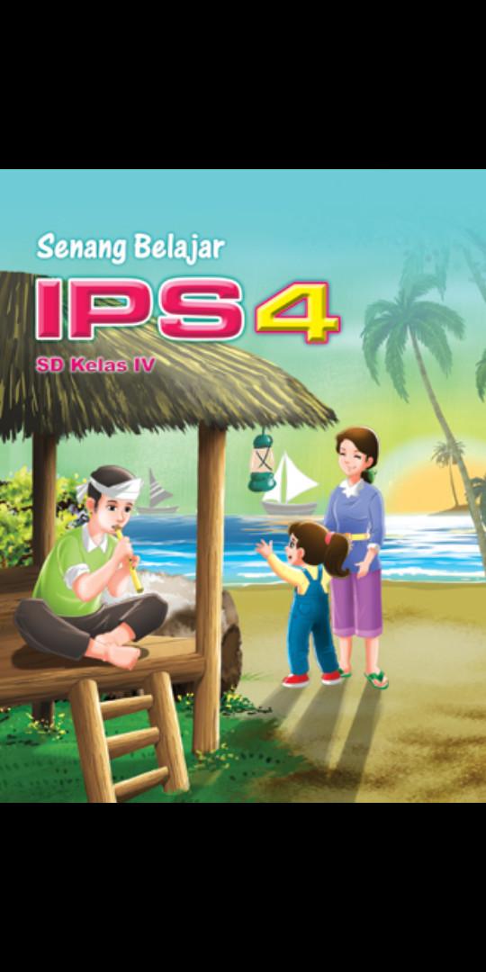 Foto Produk Senang belajar Ips Kelas 4 Sd Ktsp dari Tokobuku Rostangg