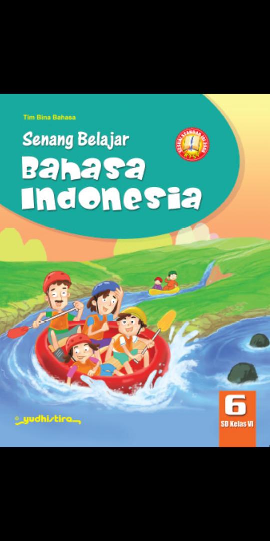 Foto Produk Senang belajar Bahasa indonesia Kelas 6 Sd Ktsp dari Tokobuku Rostangg